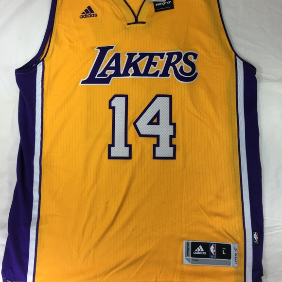 low priced 6eced a7214 Adidas Brandon Ingram LA Lakers Swingman Jersey NWT